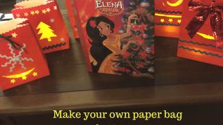 Make Luminara Lanterns for a festive Christmas or Navidad. Craft based on Disney's Princess Elena of Avalor.