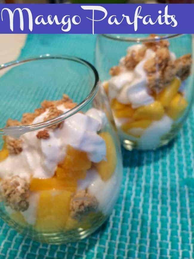 Mango-yogurt-granola-parfaits