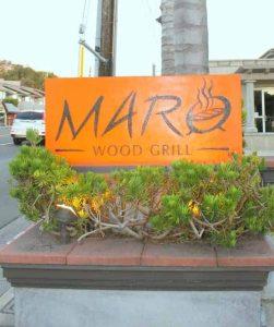 Maro Wood Grill in Laguna Beach - great dinner destination!