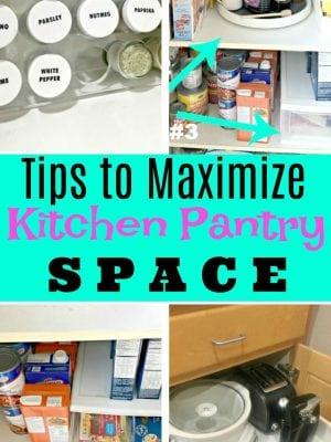 Kitchen Storage Tips