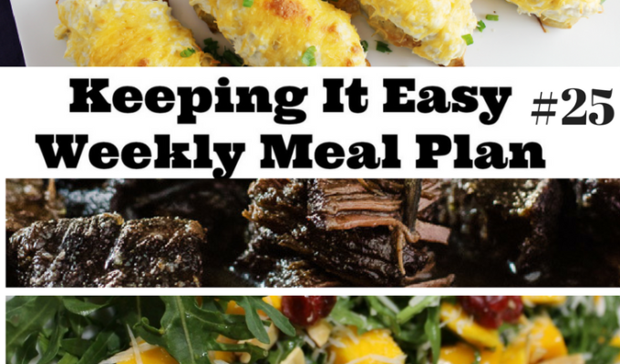 Weekly Meal Plan Ideas for Summer