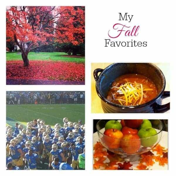 My Fall Favorites