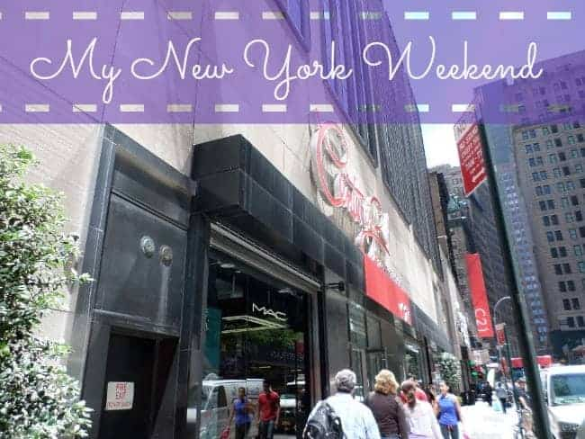 My New York Weekend
