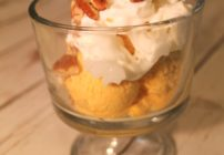 Looking for a pumpkin ice cream recipe? This one is creamy and nicely spiced. So easy to make without an ice cream maker.