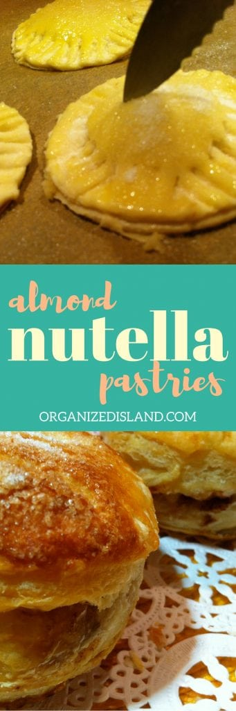 Need a quick Nutella dessert idea? Made with almond paste and Nutella, this Nutella dessert and brunch idea is incredibly easy and equally delicious!