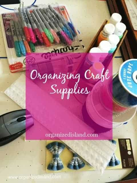 Simple Organizing Tips To Keep Those Craft Supplies Organized These Stylish Containers Are Great For