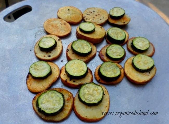 Parmesan Veggie Stacks