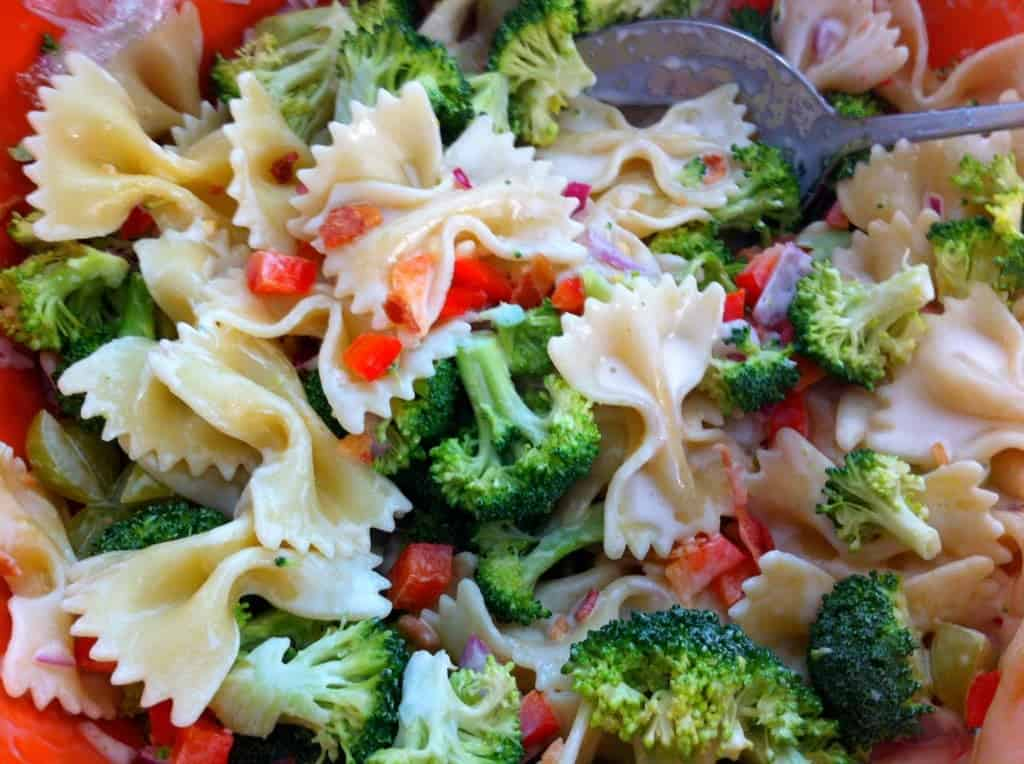 Pasta and Broccoli Salad Easy