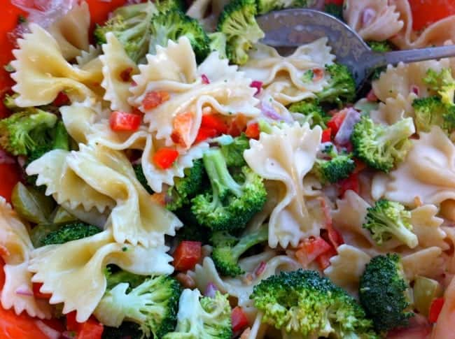 Pasta-Broccoli-Salad