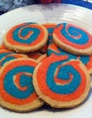 Fun patriotic cookie recipe idea!