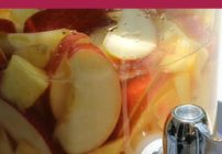 The peach mango sangria on this page is so good and everyone wanted the recipe!