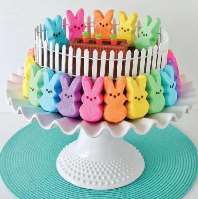 A dessert from Peeps-a-licious!