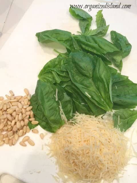 ingredients-for-pesto-sauce