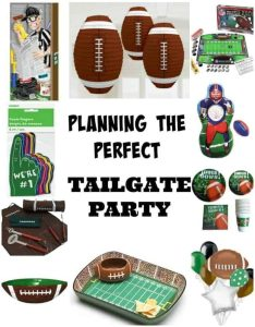 Planning a Tailgate party? Check out this printable planning sheet and list of fun tailgating decorations.