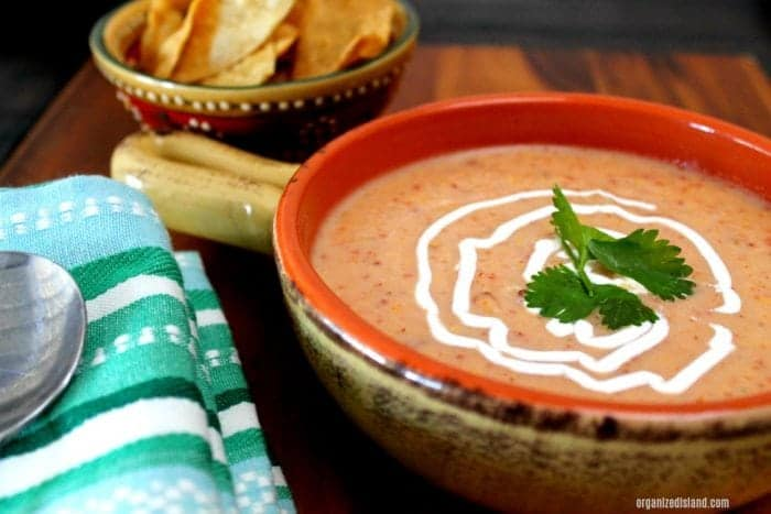 Potato Soup with Chipotle Chili recipe