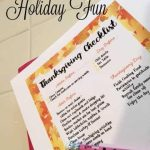 Thanksgiving Preparations for Holiday Fun