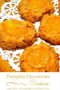 These Pumpkin Cheesecake Cookies taste like mini pumpkin pies! You will be asked for the recipe!