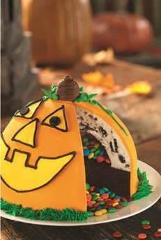 Pumpkin Patch Pinata Cake