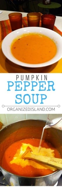 Looking for a fun fall soup? This spicy pumpkin soup recipe is easy to make and has a little zip to it too!