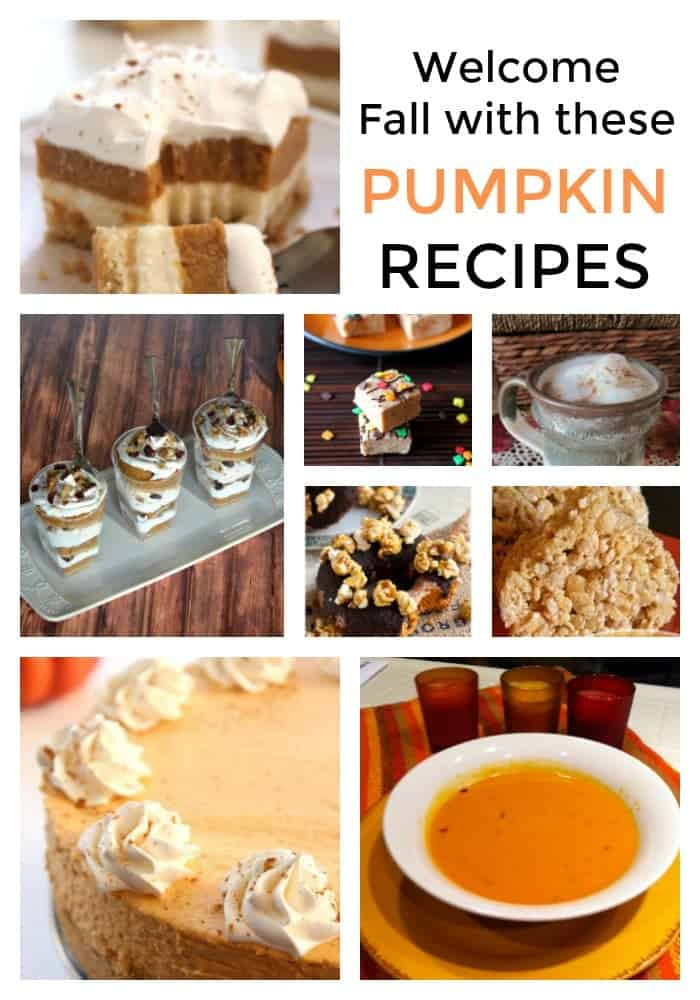 Ready to welcome fall? Try these simple pumpkin recipes you can make this season. From cakes, to soups to desserts.
