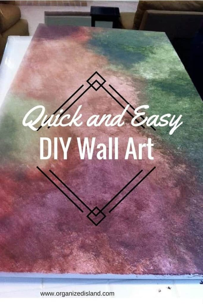 Quick and Easy DIY Wall Art