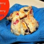 Blueberry and Raspberry Scones