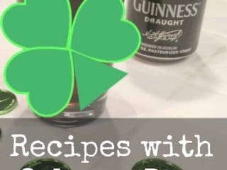cooking with Guinness Beer