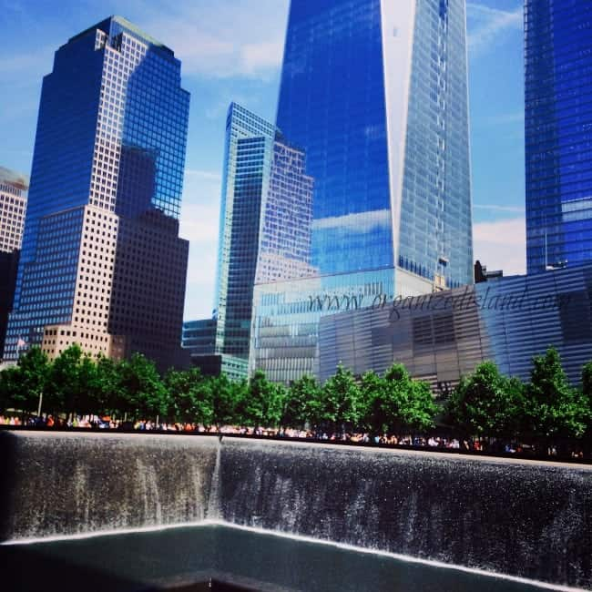 My new york weekend - Ground zero pools ...