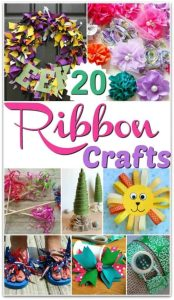 Ribbon Craft Ideas for summer