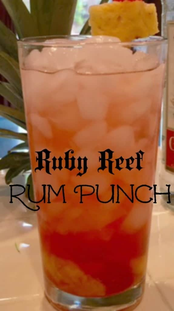Ruby Reef Rum Punch