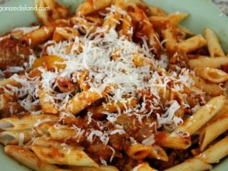 Need a nice meal idea? This sausage and peppers pasta recipe is delicious and flavorful.