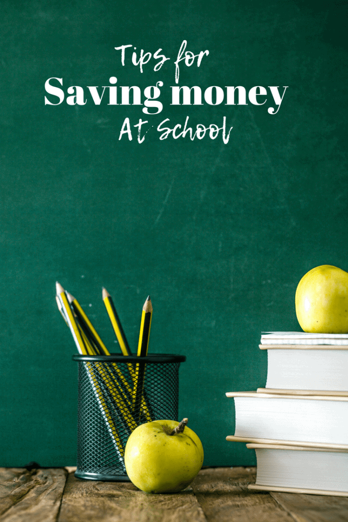tips for saving money at achool