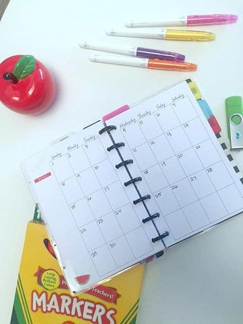 Simple Organizing Tips for School students to help prepare for a successful year.