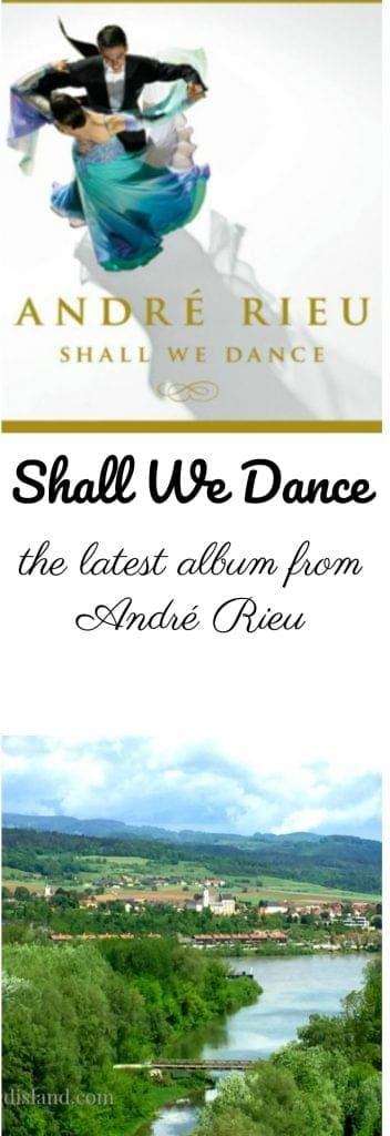 The latest album from Andre Rieu! It is beautiful and inspiring! AD
