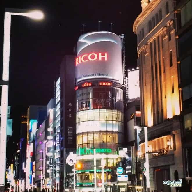 Japan travel planning shopping tips.