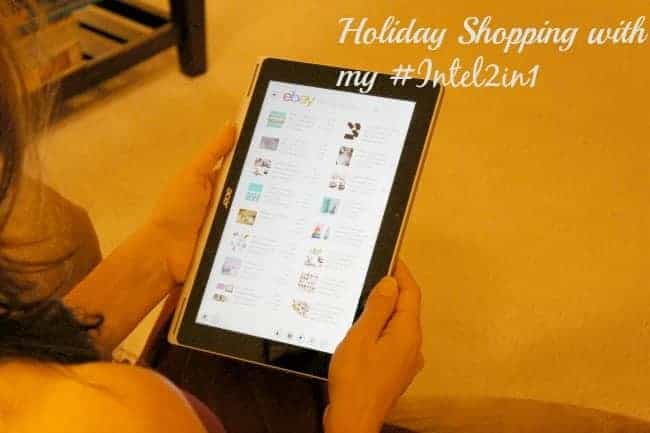 Holiday Shopping Planning with Intel 2 in 1