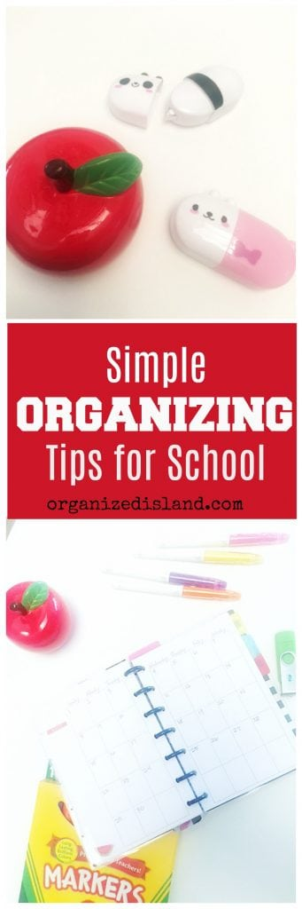 These organizing tips for school students come from a mom of two and a school office manager who has seen it all.