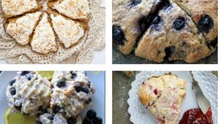 There are lots of simple scone recipes here for brunches, teas and snacks. All look so good, I want to try them all!