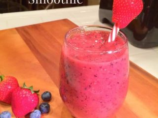 Simple-Strawberry-Smoothie
