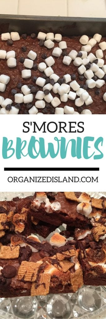 Want to make your brownies just a little special? Try this recipe for S'mores brownies - so good and so easy!