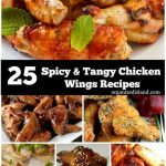 Spicy Tangy Chicken Wings Recipes
