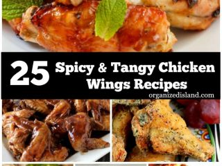 Looking for a snack? These Spicy and Tangy chicken wing recipes are perfect for any time.