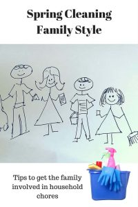 Tips on getting the entire family involved in the household cleaning. These tips can make tidying up actually fun!!