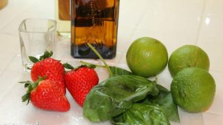 Looking for a fun and tasty drink? This Strawberry Basil Margarita is as tasty as it is pretty!