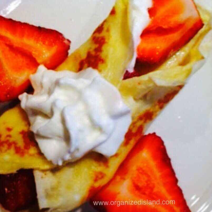 Strawberry crepe recipe easy