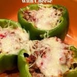 Baked Bell Peppers With Cheese
