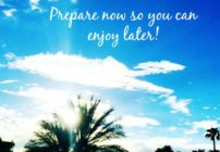 Tips to prepare for summer entertaining. Start preparing now and entertaining will be a breeze!