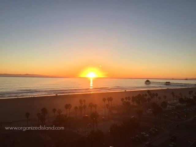 Beautiful Sunset in Huntington Beach