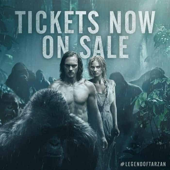 This Legend of Tarzan movie looks like a great movie - see the trailer on this site.