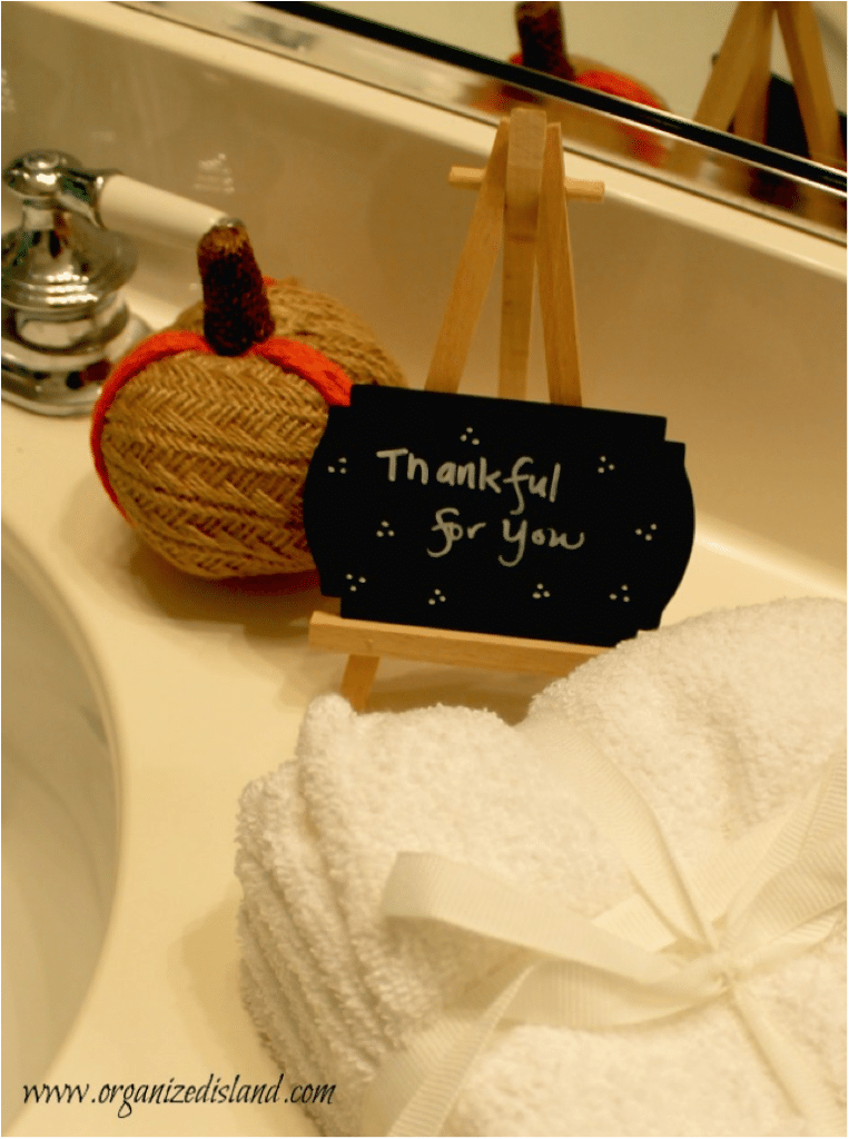 Let guests know you are appreciative of them!